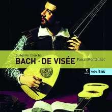 Johann Sebastian Bach (1685-1750): Cellosuiten BWV 1007-1009 arr.f.Theorbe, 2 CDs