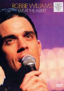Robbie Williams: Live At The Albert, 10.10.2001, DVD