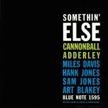 Cannonball Adderley (1928-1975): Somethin' Else (Rudy Van Gelder Remaster), CD