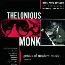 Thelonious Monk (1917-1982): The Genius Of Modern Music Vol. 1, CD