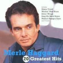 Merle Haggard: 20 Greatest Hits, CD