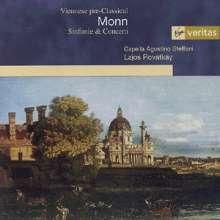 Matthias Georg Monn (1717-1750): Symphonien in F & G, CD