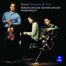 Maurice Ravel (1875-1937): Klaviertrio a-moll, CD