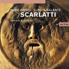 Domenico Scarlatti (1685-1757): Symphonien in C,G,a, CD