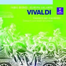 Antonio Vivaldi (1678-1741): Konzert für 2 Mandolinen RV 532, CD