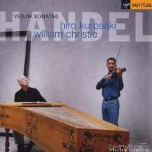 Georg Friedrich Händel (1685-1759): Violinsonaten op.1 Nr.6,10,12,13, CD