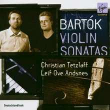 Bela Bartok (1881-1945): Sonaten für Violine & Klavier Nr.1 & 2, CD