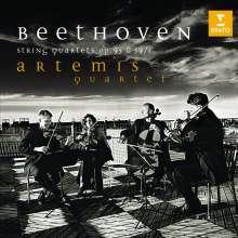 Ludwig van Beethoven (1770-1827): Sämtliche Streichquartette Vol.1 (Artemis-Quartett), CD