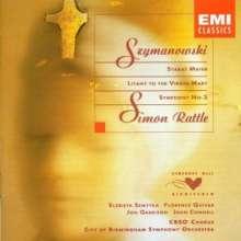"""Karol Szymanowski (1882-1937): Symphonie Nr.3 """"Lied der Nacht"""", CD"""