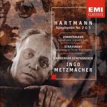 Karl Amadeus Hartmann (1905-1963): Symphonien Nr.2 & 5, CD