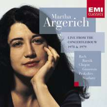 Martha Argerich - Live from the Concertgebouw 1978/79, CD