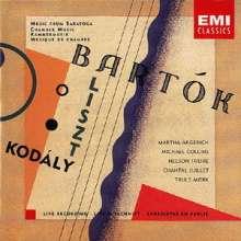 Bela Bartok (1881-1945): Kontraste für Klarinette,Violine & Klavier, CD