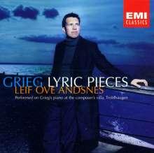 Edvard Grieg (1843-1907): 24 Lyrische Stücke, CD