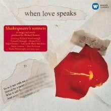 """Shakespeare - """"When Love Speaks"""", CD"""