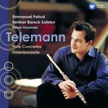 Georg Philipp Telemann (1681-1767): Flötenkonzerte D-Dur,E-Dur,G-Dur,a-moll, CD