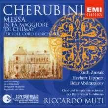 """Luigi Cherubini (1760-1842): Messe solenne in F """"Di Chimay"""", CD"""