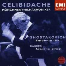 Dmitri Schostakowitsch (1906-1975): Symphonien Nr.1 & 9, CD
