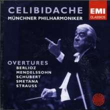 Sergiu Celibidache dirigiert Ouvertüren, CD