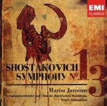 "Dmitri Schostakowitsch (1906-1975): Symphonie Nr.13 ""Babi Yar"", CD"