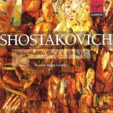 Dmitri Schostakowitsch (1906-1975): Streichquartette Nr.2,3,7,8,12, 2 CDs