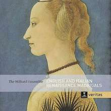 Hilliard Ensemble - English & Italian Renaissance Madrigals, 2 CDs