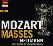 Wolfgang Amadeus Mozart (1756-1791): Messen KV 65,66,139,167,220,257-259,317,337,427, 5 CDs
