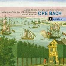 Carl Philipp Emanuel Bach (1714-1788): Symphonien Wq.183 Nr.1-4, 2 CDs
