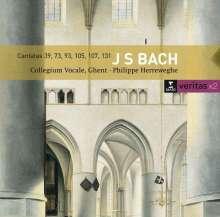 Johann Sebastian Bach (1685-1750): Kantaten BWV 39,73,93,105,107,131, 2 CDs