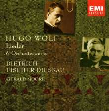 Hugo Wolf (1860-1903): Orchesterwerke & Lieder, 7 CDs