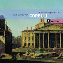 Arcangelo Corelli (1653-1713): Violinsonaten op.5 Nr.1-12, 2 CDs