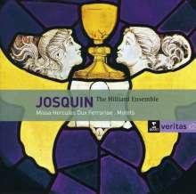 """Josquin Desprez (1440-1521): Missa """"Hercules Dux Ferrariae"""", 2 CDs"""