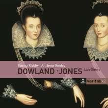 Robert Jones (1577-1617): Lautenlieder, 2 CDs