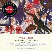 Heitor Villa-Lobos (1887-1959): Bachianas Brasileiras Nr.1,2,5,9, CD