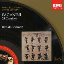 Niccolo Paganini (1782-1840): Capricen op.1 Nr.1-24 für Violine solo, CD