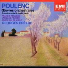 Francis Poulenc (1899-1963): Orchesterwerke, 2 CDs