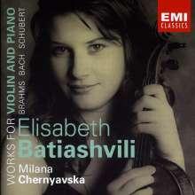Lisa Batiasvili - Werke für Violine von Brahms,Bach, Schubert, CD