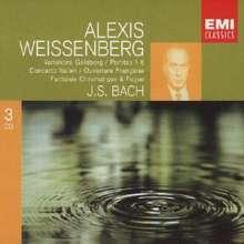 Johann Sebastian Bach (1685-1750): Partiten BWV 825-830, 3 CDs