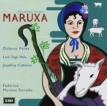 Amadeo Vives (1871-1932): Maruxa, CD
