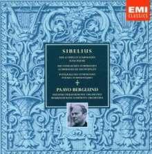 Jean Sibelius (1865-1957): Symphonien Nr.1-7, 8 CDs