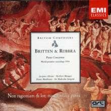 Benjamin Britten (1913-1976): Klavierkonzert op.13, CD