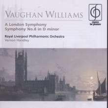 Ralph Vaughan Williams (1872-1958): Symphonien Nr.2 & 8, CD