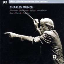 Charles Munch  - Great Conductor of the Century, 2 CDs