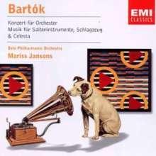 Bela Bartok (1881-1945): Konzert für Orchester, CD