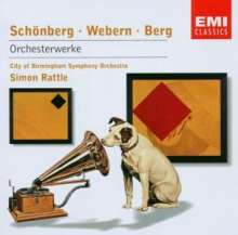 Simon Rattle - Orchesterwerke des 20.Jahrhunderts, CD