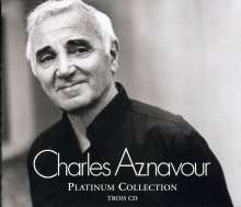 Charles Aznavour: Platinum Collection, 3 CDs