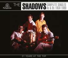 Shadows: Complete Singles A's B's 1959 - 1980, 4 CDs
