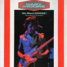 Gary Moore: We Want Moore - Live, CD