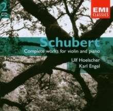 Franz Schubert (1797-1828): Sämtliche Werke für Violine & Klavier, 2 CDs