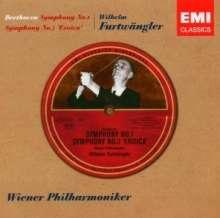 Ludwig van Beethoven (1770-1827): Symphonien Nr. 1 & 3, CD