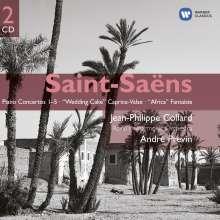Camille Saint-Saens (1835-1921): Klavierkonzerte Nr.1-5, 2 CDs